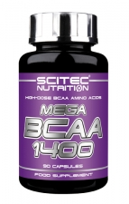 Scitec Nutrition Mega BCAA 1400 90 кап