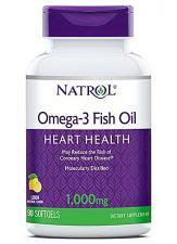 Natrol Omega-3 Fish Oil 1000 mg 90 кап