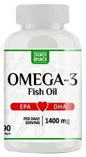 Crunch Brunch Omega-3 1400 мг 90 кап