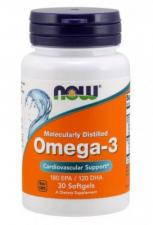 NOW Omega 3 30 кап
