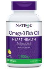Natrol Omega-3 Fish Oil 1200 mg 60 кап