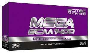 Scitec Nutrition Mega BCAA 1400 120 кап