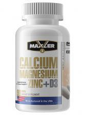Maxler Calcium Zinс Magnesium + D3 90 таб