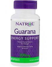 Natrol Guarana 200 мг 90 кап