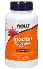 NOW  Inositol 500 mg 100 кап