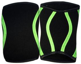 Be First Суппорт для колен черно-зеленый пара