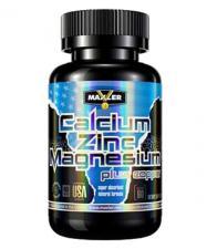 Maxler Calcium Zinс Magnesium 90 таб