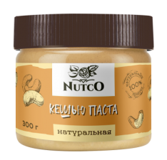 NUTCO Кешью натуральная паста 300 гр
