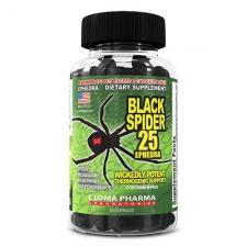 Cloma Pharma Black Spider 25 100 кап