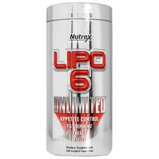 Nutrex Lipo-6 INTL Unlimited 120 кап