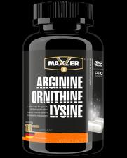 Maxler Arginine Ornithine Lysine 100 кап NEW DESIGN