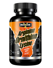 Maxler Arginine Ornithine Lysine 100 кап