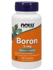NOW Boron 3 mg 100 кап