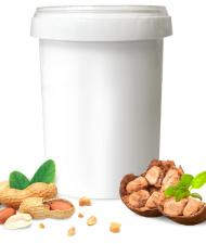 DopDrops Арахисовая паста протеиновая (35% белка) 1000 гр
