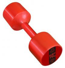 Гантель виниловая Leco 10 кг - 2шт