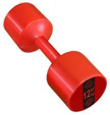 Гантель виниловая Leco 12 кг - 2шт