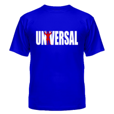 Universal Футболка Logo (синий)