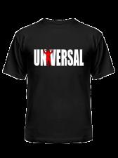 Universal Футболка Logo (черный)