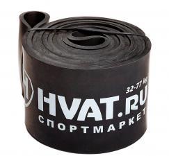 Черная резиновая петля (32-77 кг)