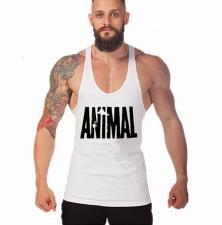 Universal Nutrition белая майка ANIMAL