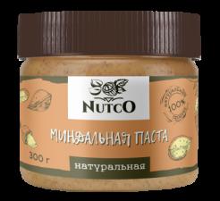 NUTCO Миндальная натуральная паста 300 гр